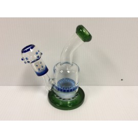 Mini Oil Rig with nail dome and honey comb