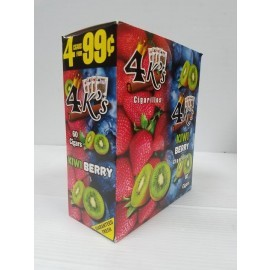 4 Kings Cigarillos Kiwi Berry 60ct