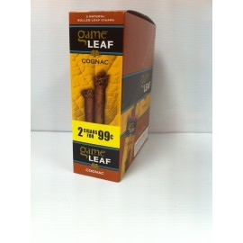 Game LEAF Cigar Cognac 2 x 15 = 30