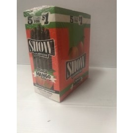 Show Cigarillos Peach Mango 5x15=75 ct