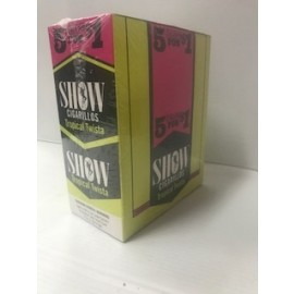 Show Cigarillos Tropical Twista 5x15=75ct
