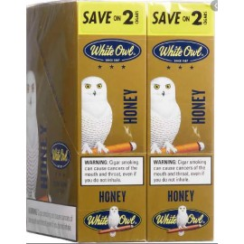 White Owl Cigarillos Honey 2x15=30ct