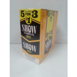 Show Cigarillos Buzz 5 x 15 = 75
