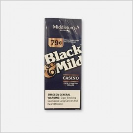 Black and Mild Casino 25 ct. [ Wood Tipped ]