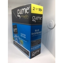 Game Blue Raspberry cigarillos 15x2