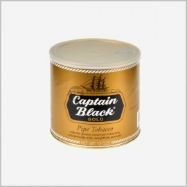 Captain Black Tin Tobacco 12 oz [ Gold ]
