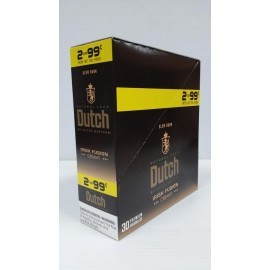 Dutch Masters Natural Leaf Irish Fusion Creamy Slow Burn 2 x 15 = 30