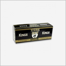 Gambler tube cut lights cigarette tubes King Size [ 200 Count ]