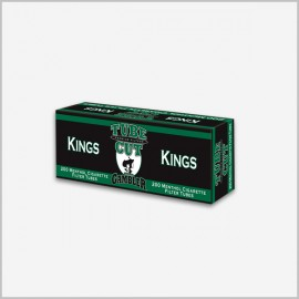 Gambler tube cut menthol cigarette tubes King Size [ 200 count ]