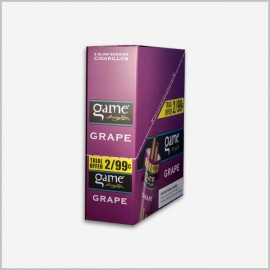 Game Cigarillos Grape 30 ct