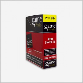 Game Cigarillos Red 30 ct