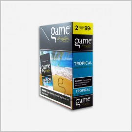 Game Cigarillos Tropical 15x2= 30 ct