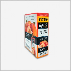 Game White Peach Cigarillos 15x2=30ct