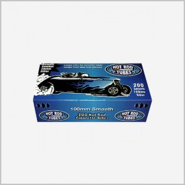 Hot Rod Cigarette tubes 200 ct Smooth 100s