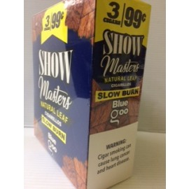 Show Masters Cigarillos Natural Leaf Blue Goo 15x2=30ct
