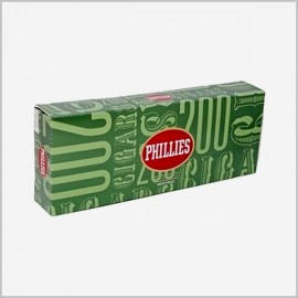 PHILLIES MENTHOL FILTERED CIGARS 10 PACKS OF 20