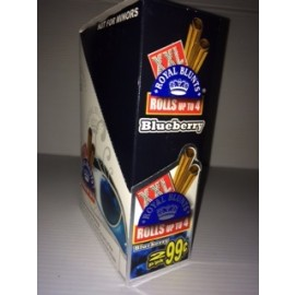 Royal Blunt Blueberry XXL Wraps 2 in 1 25 ct