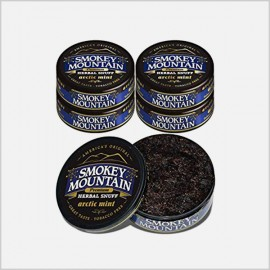 Smokey Mountain Arctic Mint snuff 5 cans (tobacco free)