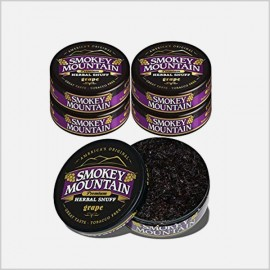 Smokey Mountain Snuff Grape 5 cans (tobacco free)