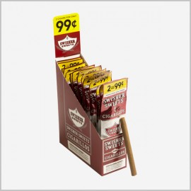 Swisher sweets cigarillos 15x2=30 count