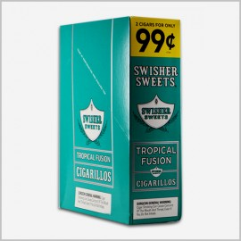 Swisher sweets tropical fusion 15x2=30 count