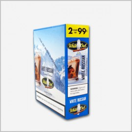 White Owl Cigarillos White Russian 15x2= 30ct