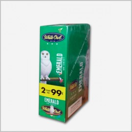 White Owl Emerald Cigarillos 2 x 15 = 30