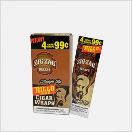 Zig Zag 'Rillo Sized Straight Up Cigar Wraps