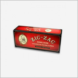 Zig zag full flavor cigarette tubes 200 count king size
