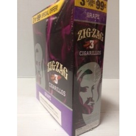 Zig zag  Cigarillos  Grape  15 X 2 = 30
